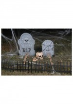 Scary Graveyard Outdoor Decoration-Cemetery Kit