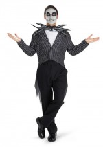 Mens Jack Skellington Costume-Tim Burton Movie Costumes