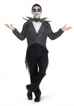 Mens Jack Skellington Costume-Tim Burton Movie Costumes