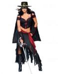 Sexy Lady Zorro Womens Costume