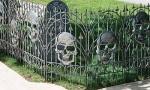 Silver Skull Fence Set/2