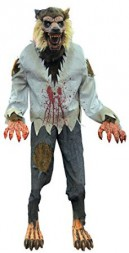 Lurching Werewolf Animated Halloween Prop Beast Haunted House Yard Scary Decor