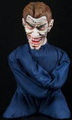 Halloween Horror Scary Insane Inmate Straight Jacket Animatronic Prop