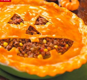 jack o lantern pie