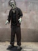 Scary Monster Moaning Motion Activated Life Size Prop