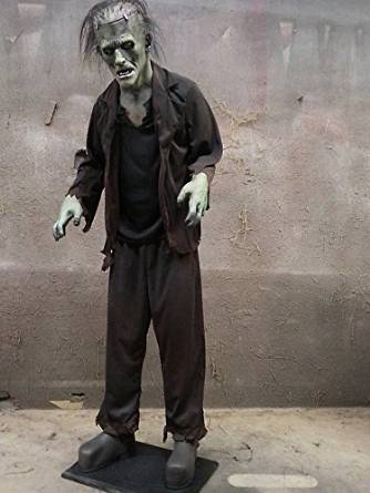 scary monster animated