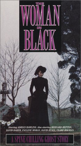 woman in black vhs
