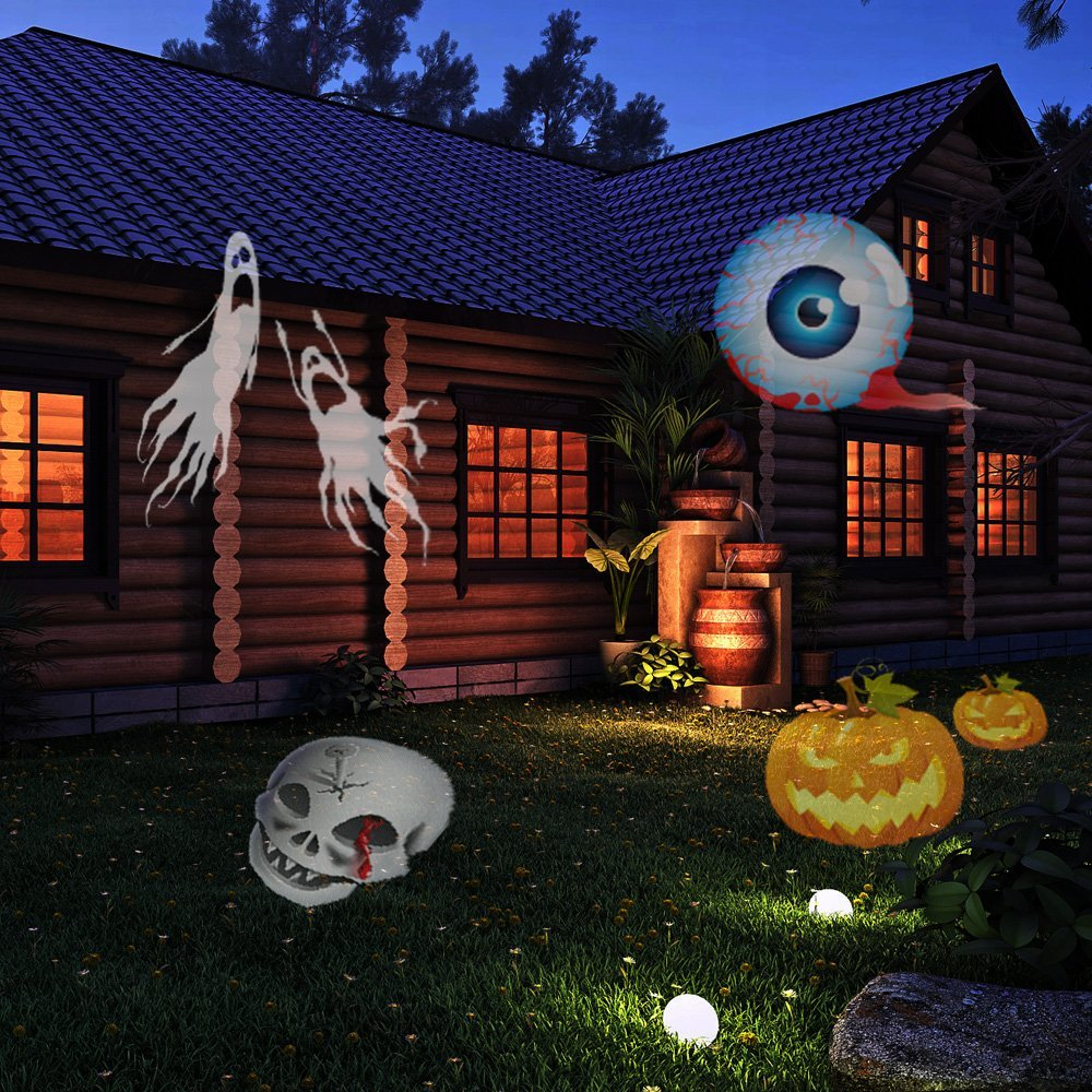 Christmas Halloween Birthday Projector Lamp