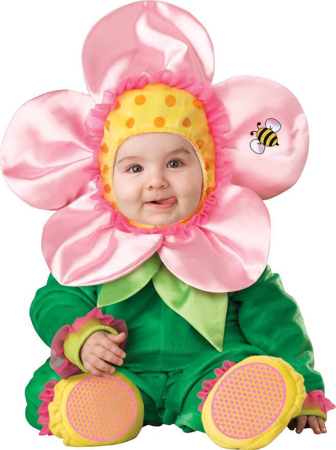 Adorable Infant Flower Costume by InCharacter