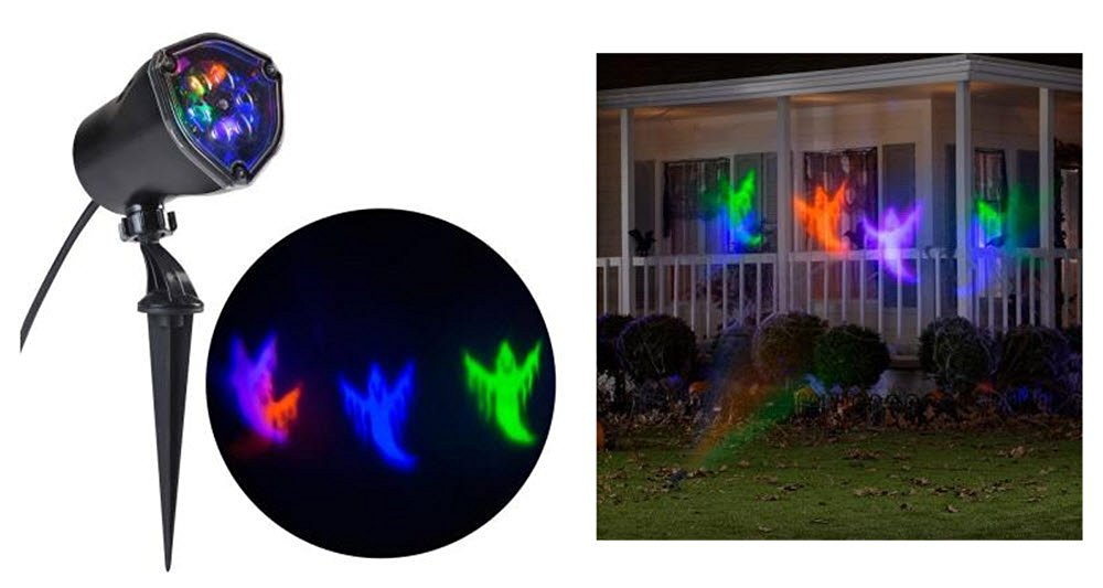 Halloween Multi Color Whirl a Motion Ghost Projection Light