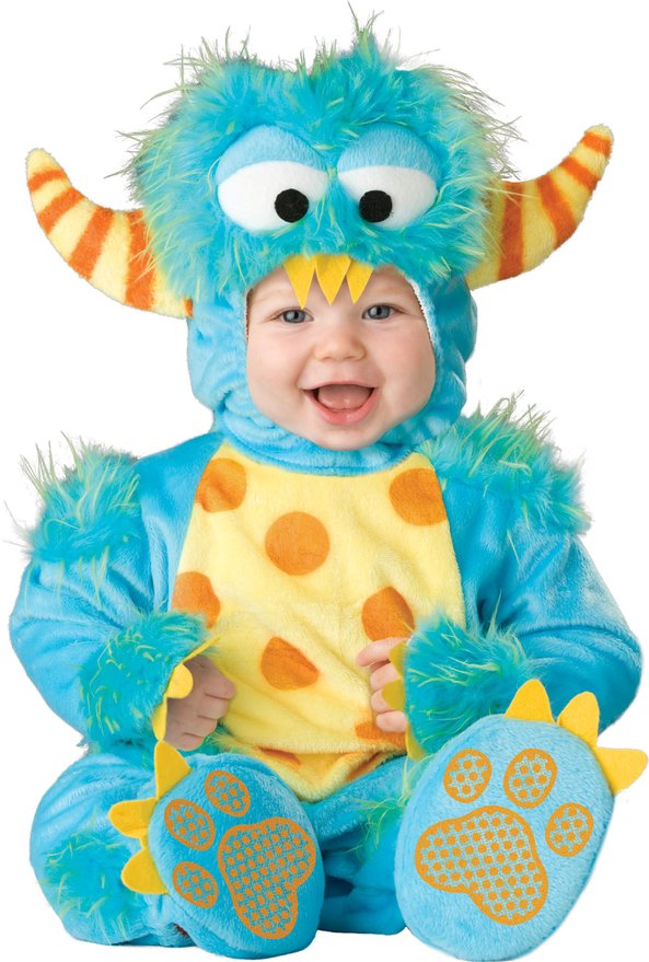 Unisex Baby Infant Cute Monster Costume by InCharacter