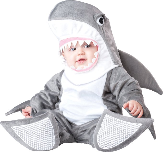 Cute Infant Silly Shark Costume by InCharacter