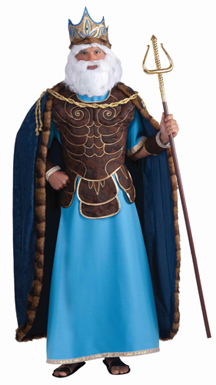 Men's King Neptune Costume