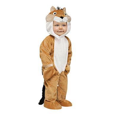 Toddler Chipper Chipmunk Toddler Costume